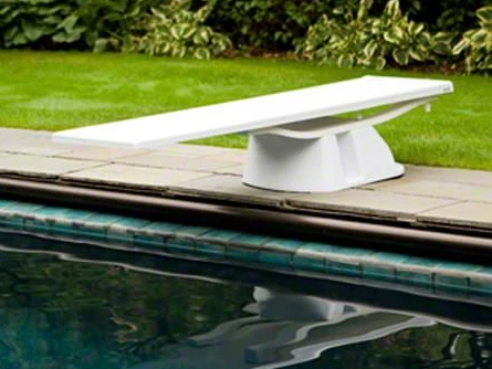 S.R. Smith Salt Pool Jump System Base White - 69-209-62