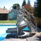 SR Smith Vortex Slide Open Flume & Ladder Gray Granite - 695-209-124-Aqua Supercenter Pool Supplies