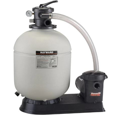 "Hayward 21"" Above-ground Pool Sand Filter & Pump Package 1.5 HP Power-Flo Matrix - W3S210T93S"