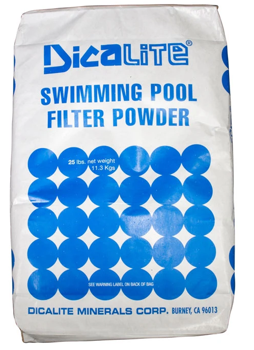 Diatomaceous Earth 25 Pounds - DE25-Aqua Supercenter Pool Supplies