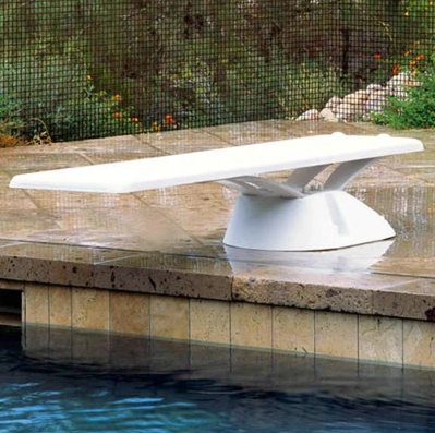Inter-Fab Edge aquaBoard 8' Diving Board-Gray - EDGE8-9