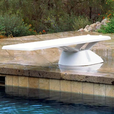Inter-Fab Edge aquaBoard 8' Diving Board-White - EDGE8WW