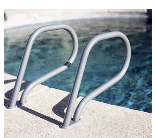 Inter-Fab Gibralter Style Grab Rail Pair .049 Stainless Steel - G4G049-Aqua Supercenter Pool Supplies