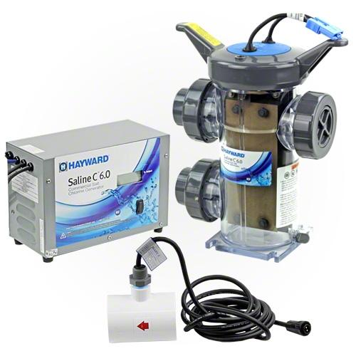 Hayward Saline C 6.0 Commercial Chlorine Generator - W3HCSC60-Aqua Supercenter Pool Supplies