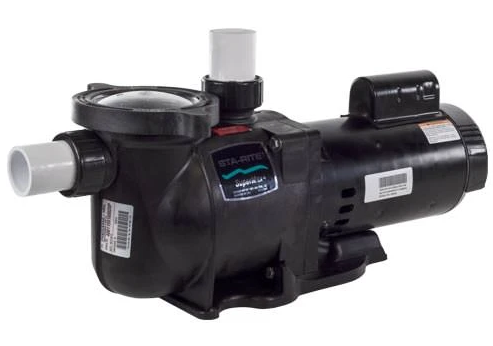 Sta-Rite SuperMax 2 HP EE Two Speed Pump - PHK2RAY6G-104L-Aqua Supercenter Pool Supplies