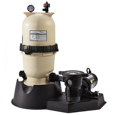 Pentair 1 HP Pump with Clean and Clear 100 Filter System - PNCC0100OE1160-Aqua Supercenter Pool Supplies