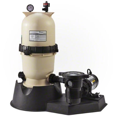 Pentair 1.5 HP Pump with Clean and Clear 125 Filter System - PNCC0125OF1160-Aqua Supercenter Pool Supplies