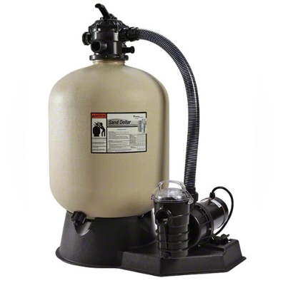Pentair 1.5 HP Pump and 22 Inches Sand Dollar Filter System - PNSD0060DO1160-Aqua Supercenter Pool Supplies