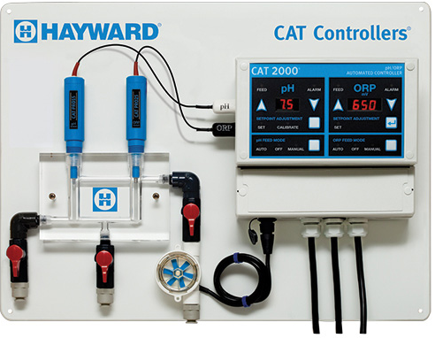 Hayward CAT 2000 Chemical Automation System - W3CATPP2000-Aqua Supercenter Pool Supplies