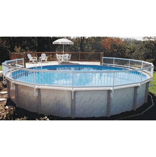 Above-ground Pool Safety Fence - 8 Section Kit (A)-Aqua Supercenter Outlet - Discount Swimming Pool Supplies