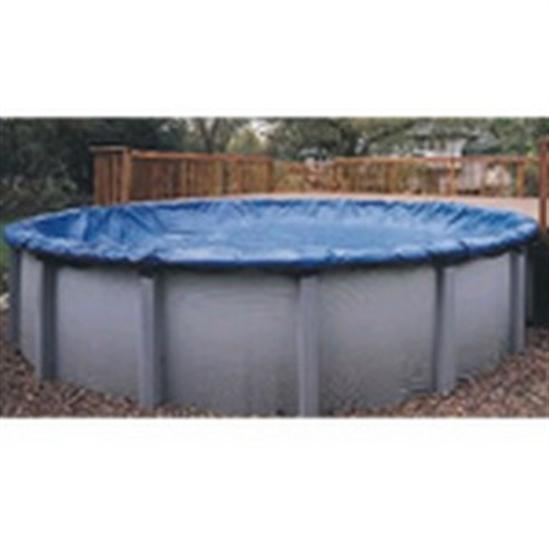 Above-ground Winter Cover -Pool Size: 28' Round- Arctic Armor 8 Yr Warranty-Aqua Supercenter Outlet - Discount Swimming Pool Supplies