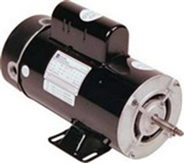 Advantage Above Ground Pool - Spa Replacement Motor 2 Speed 48 Frame 1 1/2 HP-Aqua Supercenter Outlet - Discount Swimming Pool Supplies