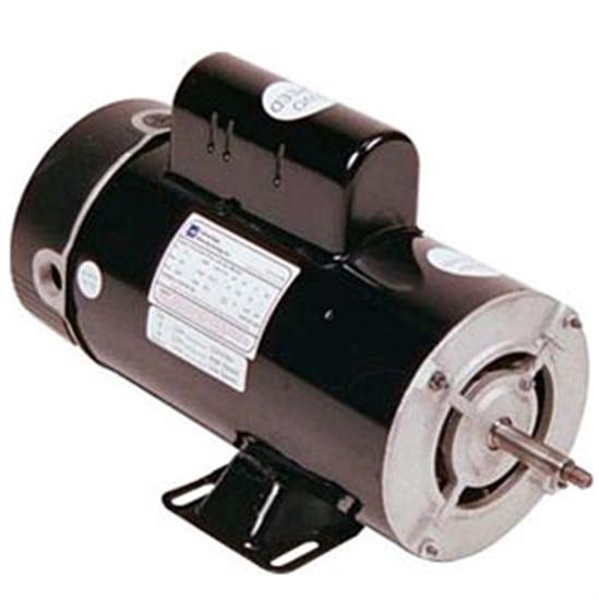 Advantage Above Ground Pool - Spa Replacement Motor 2 Speed 48 Frame 1 HP-Aqua Supercenter Outlet - Discount Swimming Pool Supplies