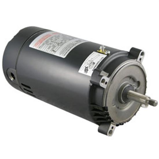 AO Smith Standard Full Rated Round Flange Pool Motor - 1.5 HP-Aqua Supercenter Outlet - Discount Swimming Pool Supplies