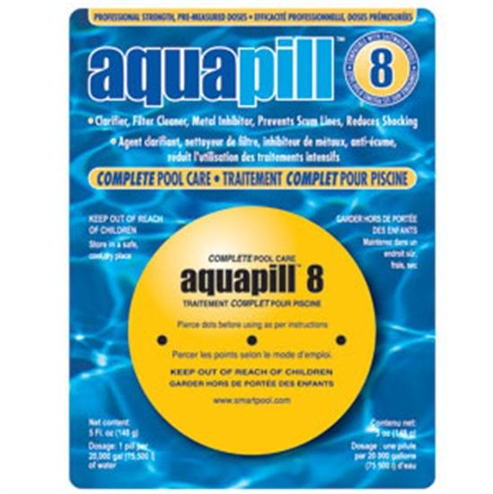 AquaPill 8 - Complete Pool Care-Aqua Supercenter Outlet - Discount Swimming Pool Supplies