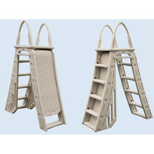 Confer Roll-Guard A-frame Ladder-Aqua Supercenter Outlet - Discount Swimming Pool Supplies