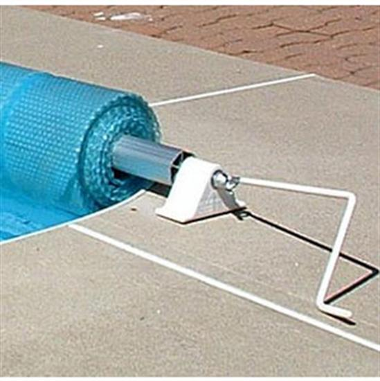 Feherguard Low Profile Solar Cover Reel Up To 18' x 36' With Plugged Tube-Aqua Supercenter Outlet - Discount Swimming Pool Supplies