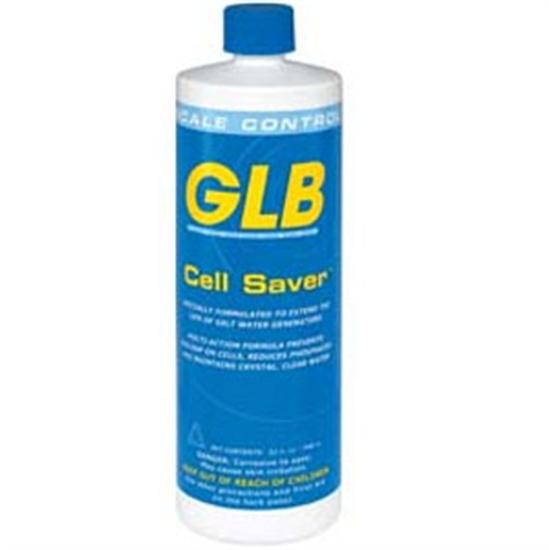 GLB Cell Saver Saltwater Stain and Scale 1 Quart - 12 Bottles-Aqua Supercenter Outlet - Discount Swimming Pool Supplies