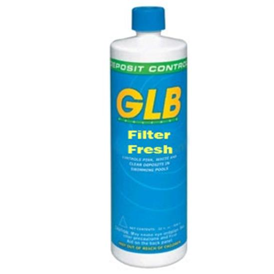 GLB Filter Fresh Cartridge Filter Cleaner 1 Pint - 1 Bottle-Aqua Supercenter Outlet - Discount Swimming Pool Supplies