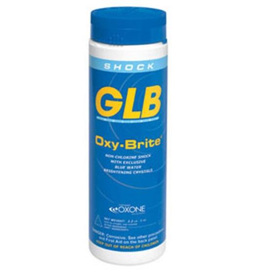 GLB Oxybrite Non Chlorine Shock 2.2 lb Bottle - 1 Bottle-Aqua Supercenter Outlet - Discount Swimming Pool Supplies
