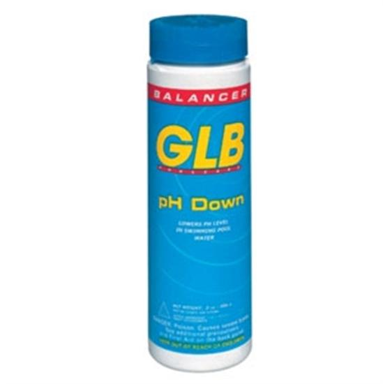 GLB PH Down 1 lb - 12 Bottles-Aqua Supercenter Outlet - Discount Swimming Pool Supplies