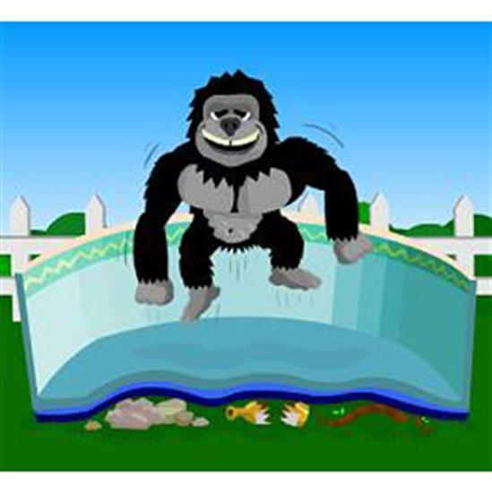 Gorilla Bottom Floor Padding 33' Round-Aqua Supercenter Outlet - Discount Swimming Pool Supplies