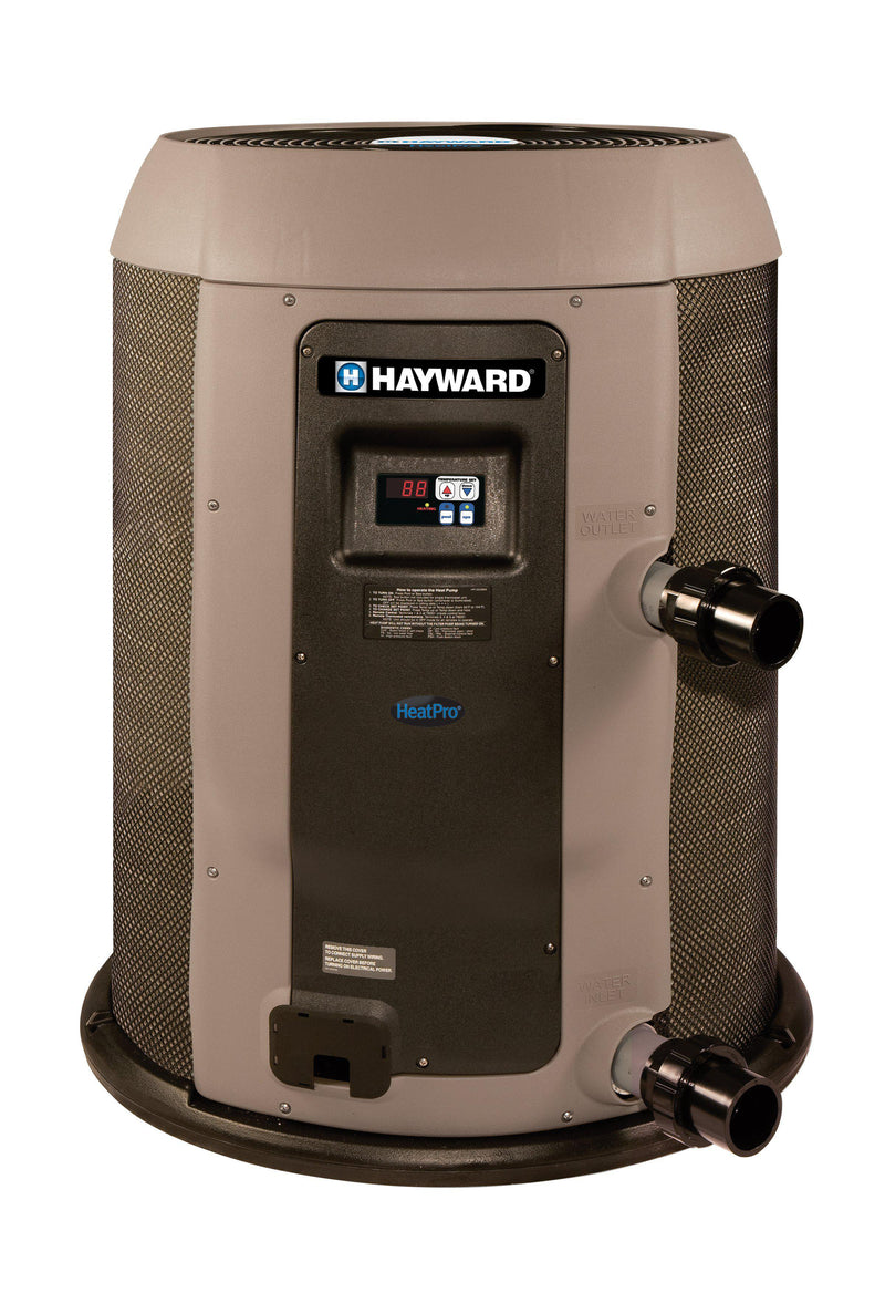 Hayward HeatPro 110,000 BTU Round Pool Heat Pump - HP21104T-Aqua Supercenter Outlet - Discount Swimming Pool Supplies