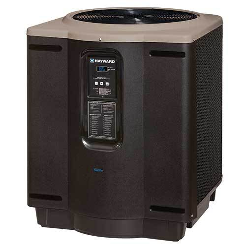 Hayward HeatPro 125,000 BTU Square Pool Heat Pump - HP21254T-Aqua Supercenter Outlet - Discount Swimming Pool Supplies