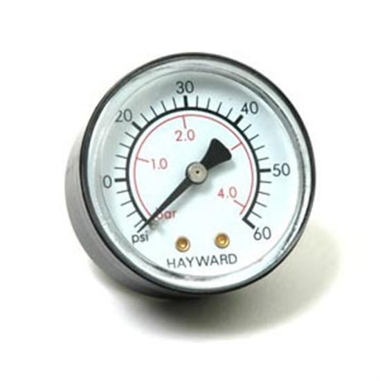 Hayward Pro-Grid Pressure Gauge Back Mount-Aqua Supercenter Outlet - Discount Swimming Pool Supplies
