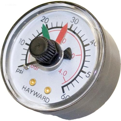Hayward SwimClear Filter Pressure Gauge w-Dial-Aqua Supercenter Outlet - Discount Swimming Pool Supplies
