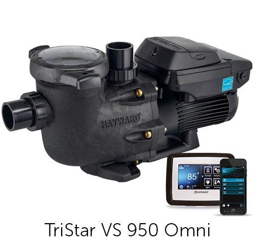 Hayward TriStar VS 950 Omni Variable Speed Smart Pool Pump - HL32950VSP-Aqua Supercenter Outlet - Discount Swimming Pool Supplies