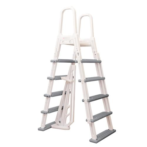 Heavy-Duty A-Frame Ladder-Aqua Supercenter Outlet - Discount Swimming Pool Supplies
