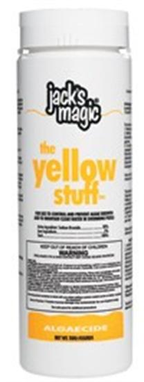 Jacks Magic The Yellow Stuff All-Purpose Algaecide - 2 lbs-Aqua Supercenter Outlet - Discount Swimming Pool Supplies