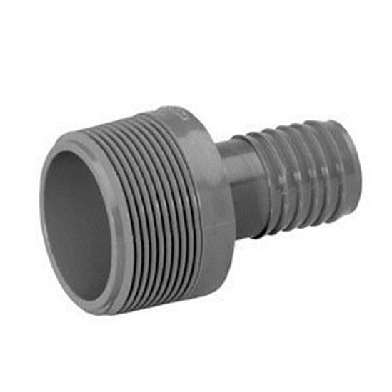 "Lasco 1.5"" x 1"" MPT x INS Reducing Male Adapter Hi Max Fitting-Aqua Supercenter Outlet - Discount Swimming Pool Supplies"