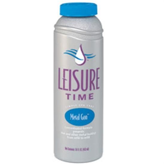 Leisure Time Spa Metal Gon 1 Pint - 1 Bottle-Aqua Supercenter Outlet - Discount Swimming Pool Supplies