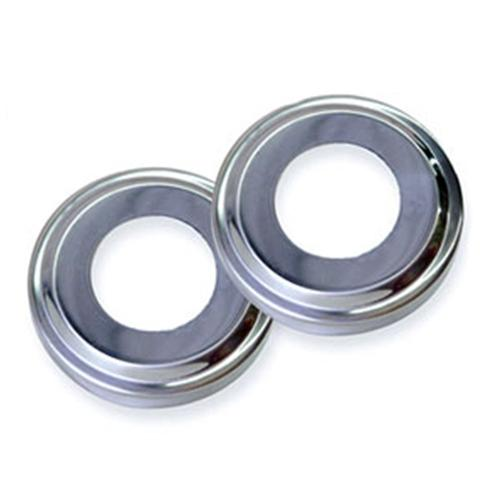 Pair Of Stainless Steel Escutcheons-Aqua Supercenter Outlet - Discount Swimming Pool Supplies