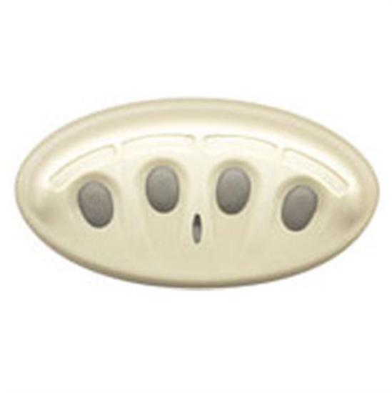 Pentair 4-Function Spa Side Remote Switch - 150' White-Aqua Supercenter Outlet - Discount Swimming Pool Supplies