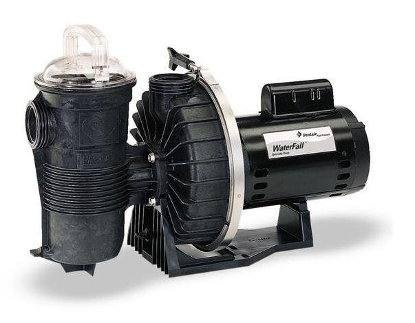 Pentair AFP-120 WaterFall Pump with Strainer 115/230V - 340351-Aqua Supercenter Pool Supplies