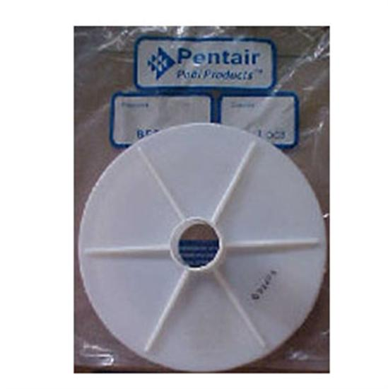 Pentair American Admiral Skimmer Vacuum Plate-Aqua Supercenter Outlet - Discount Swimming Pool Supplies