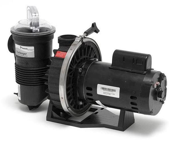 Pentair Challenger High Flow Energy Efficient 1 HP 115/230V Full Rated Pool Pump - 342235-Aqua Supercenter Pool Supplies
