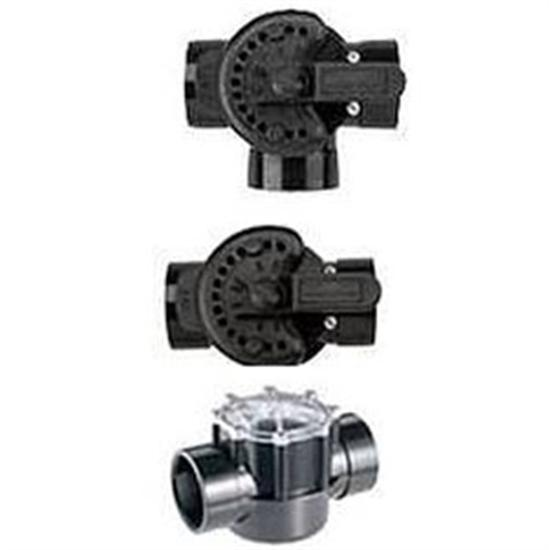 "Pentair CPVC Diverter Valve 2-Port 1.5"" x 2"" Socket-Aqua Supercenter Outlet - Discount Swimming Pool Supplies"