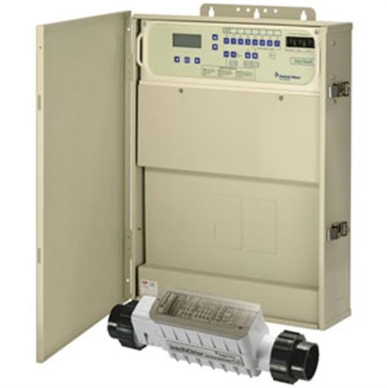 Pentair EasyTouch Pool or Spa Automation w- Salt Water Chlorinator 8PSC-IC40- 40,000 Gallons-Aqua Supercenter Outlet - Discount Swimming Pool Supplies