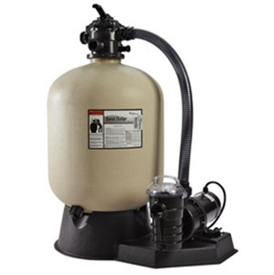 "Pentair PacFab 19"" Sand Dollar Top Mount Sand Filters System-Aqua Supercenter Outlet - Discount Swimming Pool Supplies"