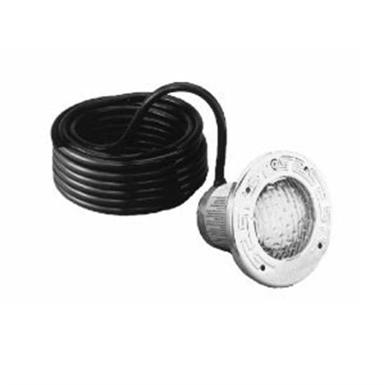 Pentair PacFab Spabrite Pool Spa Light 120V 100W 15'Cord With Stainless Face Ring-Aqua Supercenter Outlet - Discount Swimming Pool Supplies