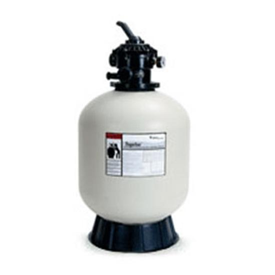 Pentair Tagelus Fiberglas Sand Filter w- Top Mount Valve TA-50D-Aqua Supercenter Outlet - Discount Swimming Pool Supplies