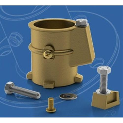 "Permacast 3"" Bronze Anchor Socket - 1.9 Inch-Aqua Supercenter Outlet - Discount Swimming Pool Supplies"