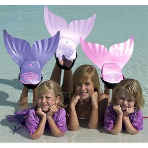 Pink Mermaid Swim Fin-Aqua Supercenter Outlet - Discount Swimming Pool Supplies