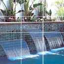 "Polaris WaterDesigns Powerfall - 48"" length 1"" Nozzle-Lip - Gray-Aqua Supercenter Outlet - Discount Swimming Pool Supplies"