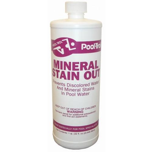 Pool Care Mineral Stain Out - 32 oz-Aqua Supercenter Outlet - Discount Swimming Pool Supplies