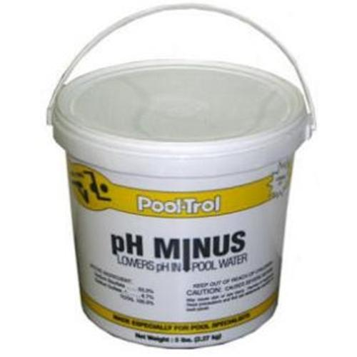 Pool Care pH Minus pH Decreaser - 6 lb Pail-Aqua Supercenter Outlet - Discount Swimming Pool Supplies
